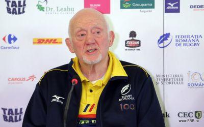 Naționala de rugby a României are un nou staff