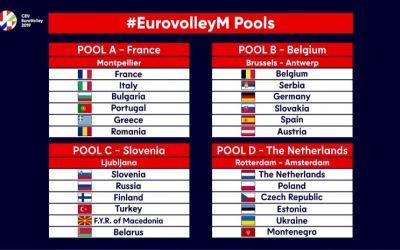 Naționala de volei masculin a României și-a aflat adversarele de la Campionatul European