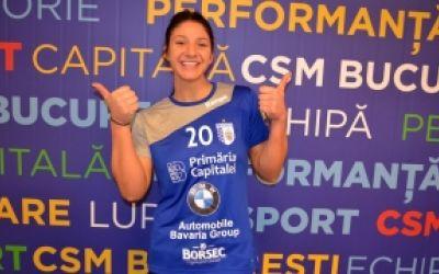 CSM București a transferat-o pe Claudia Constantinescu, de la HC Zalău