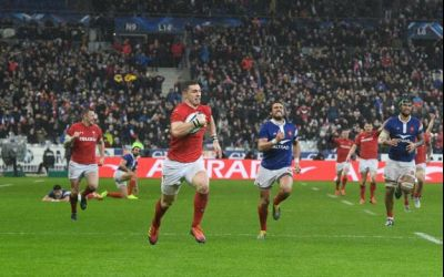 Six Nations: Țara Galilor a învins spectaculos Franța