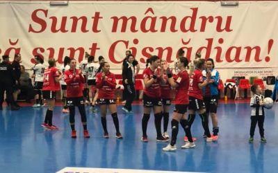 Măgura Cisnădie a fost învinsă din nou categoric de Esbjerg