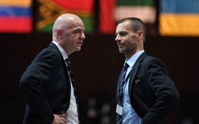 Noi nași ai fotbalului: Infantino și Ceferin nu vor avea adversari pentru șefia FIFA, respectiv UEFA