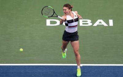 Simona Halep a debutat cu victorie la Dubai