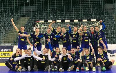 Naţionala de handbal feminin tineret a României și-a aflat adversarele de la Euro 2019