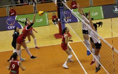 Cupa CEV: Alba Blaj, victorie clară cu Știința Bacău în semifinale
