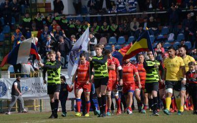 Naționala de rugby a României a învins Rusia cu emoții
