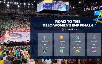 Cum arată sferturile de finală din Liga Campionilor la handbal feminin