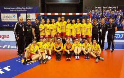 Naționala de handbal feminin a României, eșec în fața Franței