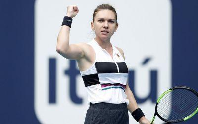 Simona Halep s-a calificat în semifinale la Miami și este la un pas de a reveni pe locul WTA