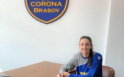 Eliza Buceschi rămâne la Corona Brașov