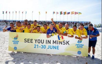 Naționala de fotbal pe plajă a României și-a aflat adversarele de la Jocurile Europen