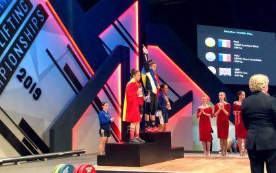 Loredana Toma, trei medalii de aur la Europenele de haltere