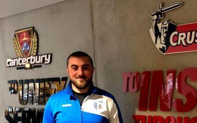 Lasha Tavartkiladze este noul antrenor al echipei de rugby CSM București