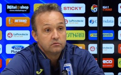 VIDEO / Corneliu Papură, prima conferință în calitate de antrenor al Craiovei