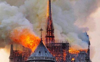 CIO donează jumătate de milion de euro pentru Notre-Dame