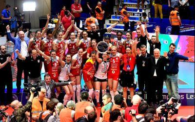 VIDEO / Volei Alba Blaj, campioana României la volei feminin
