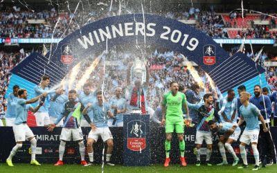 Manchester City a câștigat și Cupa Angliei, cu un scor de tenis