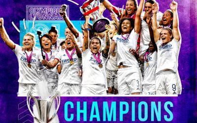 Lyon, din nou campioana Europei la fotbal feminin