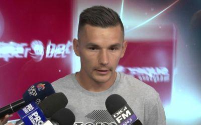 Hoban și Djokovic și-au prelungit contractele cu CFR Cluj