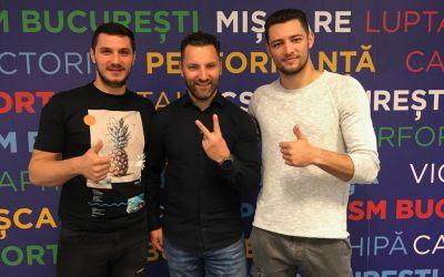 CSM București a mai prelungit contractele a doi handbaliști, Rotaru și Militaru