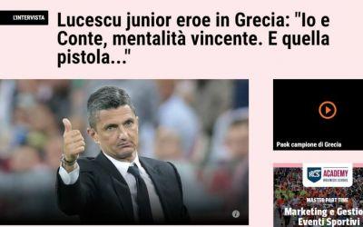 Răzvan Lucescu, intervievat de Gazzetta dello Sport