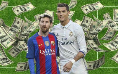 Cei mai bine plătiți sportivi din lume. Messi conduce clasamentul