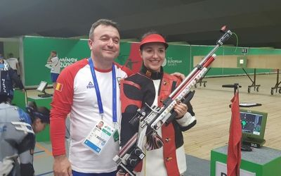 Laura Coman a adus primul aur la Jocurile Europene de la Minsk
