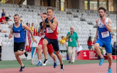 """27 de medalii pentru """"tricolori"""" la Balcaniada de la Cluj!"""