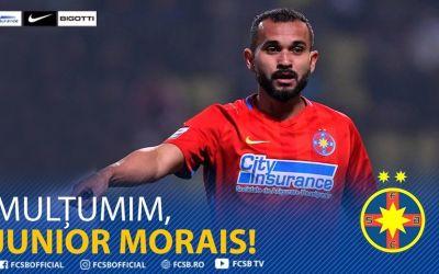 VIDEO / FCSB s-a despărțit de Junior Morais, care va juca în Turcia