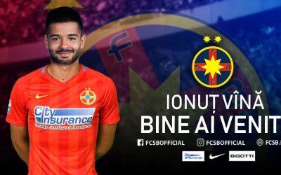 Ionuţ Vînă a semnat cu FCSB