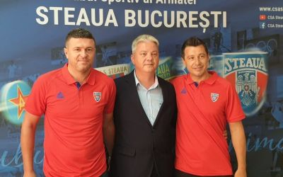 Daniel Oprița și Iulian Miu o vor antrena pe CSA Steaua