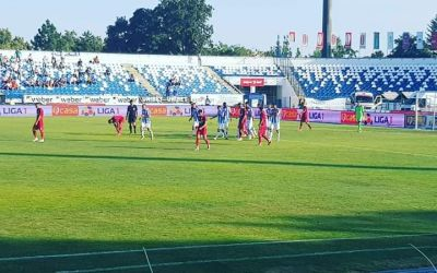 Liga 1: Poli Iași câștigă la limită duelul cu Astra Giurgiu