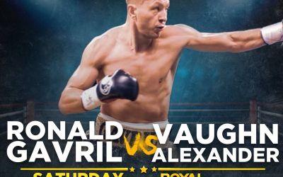 Ronald Gavril a anulat meciul cu Vaughn Alexander