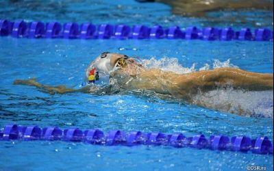 Robert Glință aterminat al șaptelea în finala mondială de 50m spate