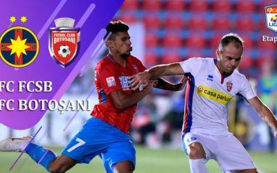Jocul de plăcere al Botoșaniului sufocă talentul vedetelor de la FCSB