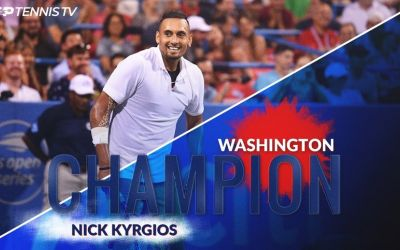 Nick Kyrgios, campion la Wsshington