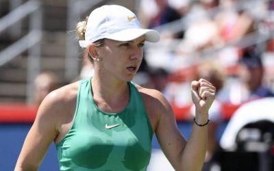 Simona Halep câștigă primul meci după Wimbledon