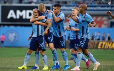 VIDEO / Mitriță a marcat din nou pentru New York City FC