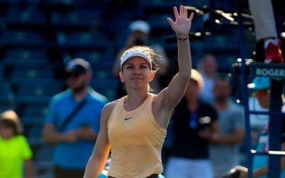Simona Halep a abandonat în sferturi la Rogers Cup