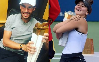 Nadal și Andreescu, campioni la Rogers Cup