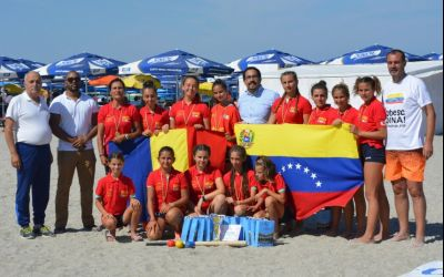 Ce bizarerie ! Ambasada Venezuelei în România oferă premii la Naționalele de oină pe plajă