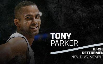 San Antonio Spurs retrage tricoul cu numărul purtat de Tony Parker