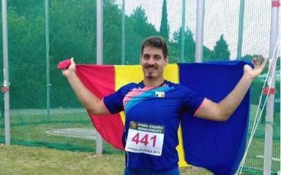 """Alin Firfirică, argint la reuniunea atletică din Luxemburg: """"Sunt mulțumit de rezultat"""""""