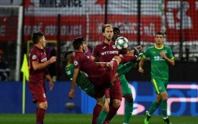 CFR Cluj a pierdut la limită duelul cu Slavia Praga. Omrani a ratat un penalty pe final