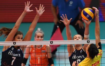 Naționala de volei feminin a României, învinsă în primul meci la Campionatul European