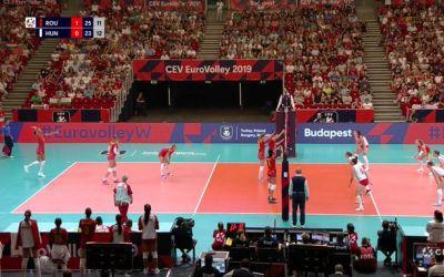 Super victorie românească la Budapesta. Naționala feminină a învins Ungaria la Campionatul European