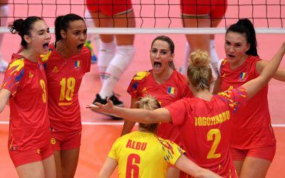 Naționala de volei feminin a României a mai reușit o victorie la Campionatul European