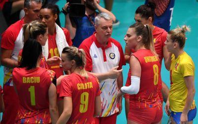 Naționala de volei feminin a României, învinsă de Croația