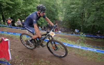 Vlad Dascălu devine campion mondial under-23 la mountain bike și merge JO de la Tokyo