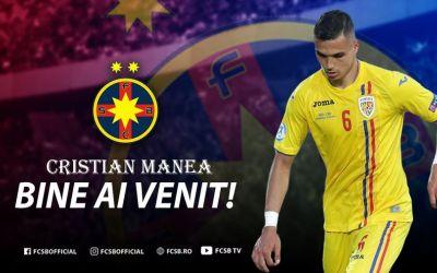 Oficial: Cristi Manea a semnat cu FCSB